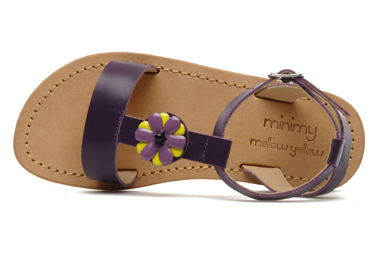 Sandales et nu-pieds Mellow Yellow Lumanji Violet vue gauche