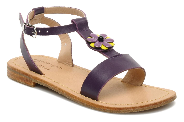 Sandales et nu-pieds Mellow Yellow Lumanji Violet vue détail/paire