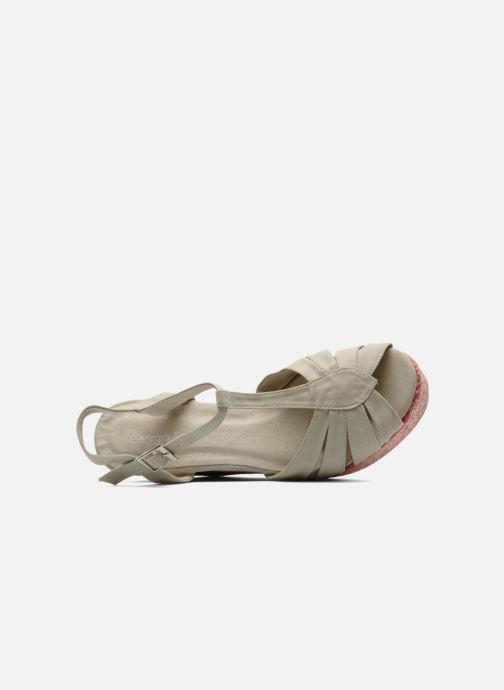Sandales et nu-pieds Georgia Rose Farto Beige vue gauche