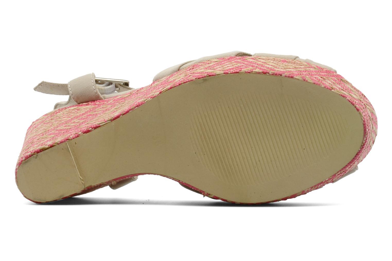 Sandales et nu-pieds Georgia Rose Farto Beige vue haut