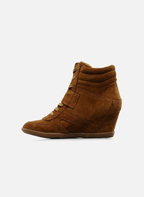 Ankle boots Addict-Initial Alida Brown front view