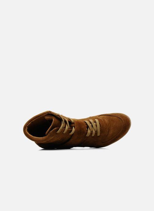 Bottines et boots Addict-Initial Alida Marron vue gauche