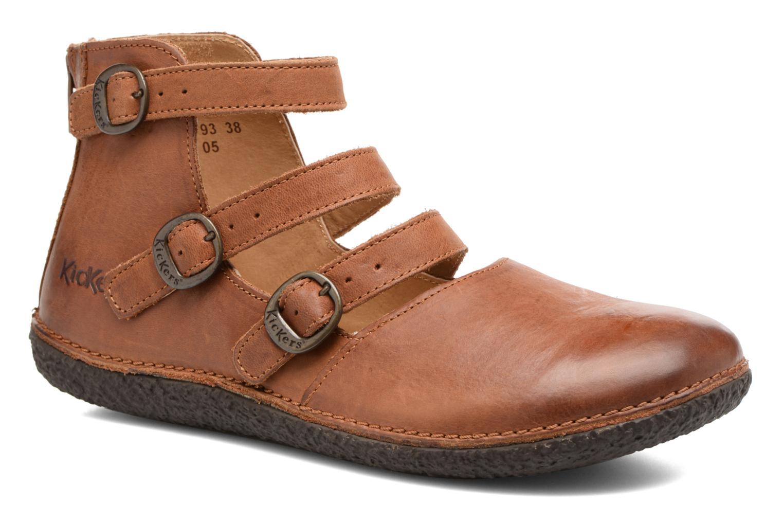 Nuevo zapatos Kickers HONORINE (Marrón) cómodo - Bailarinas en Más cómodo (Marrón) 65ace9