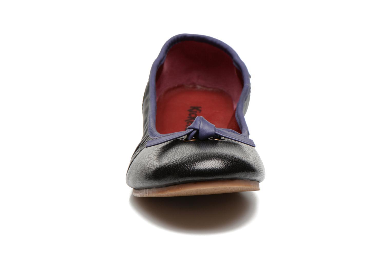 Ballerinas Kickers Liberta schwarz schuhe getragen
