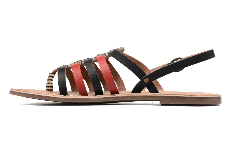 Sandalen Kickers Dixmille Zwart voorkant