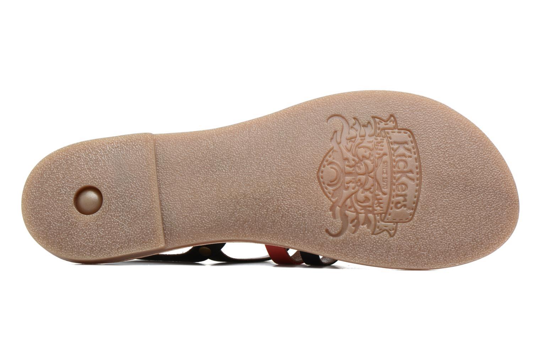 Sandalen Kickers Dixmille Zwart boven