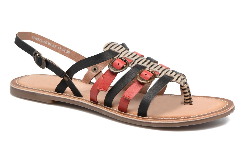 Sandalen Kickers Dixmille Zwart detail