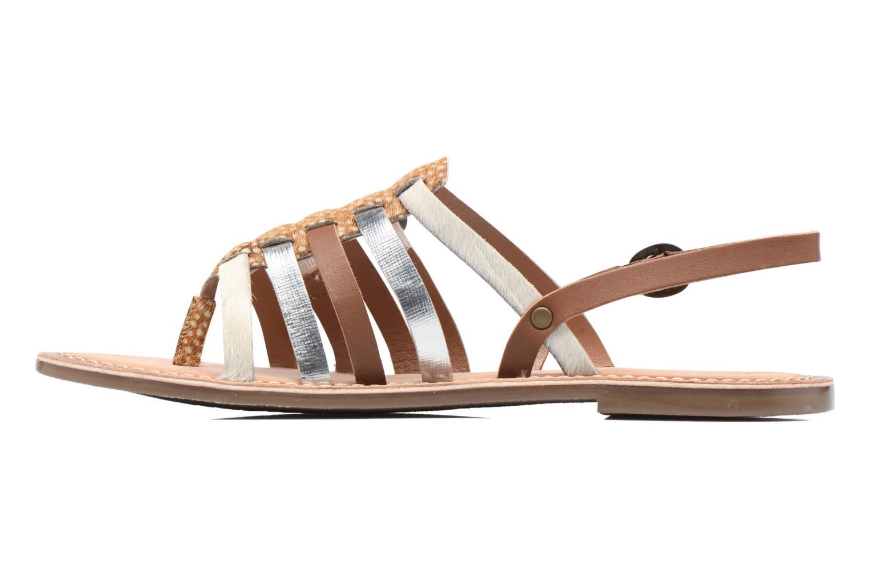 Sandalen Kickers Dixmille braun ansicht von vorne
