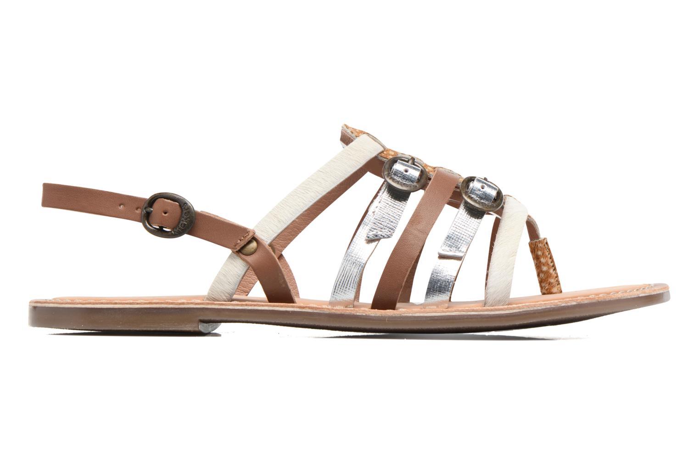 Sandalen Kickers Dixmille braun ansicht von hinten