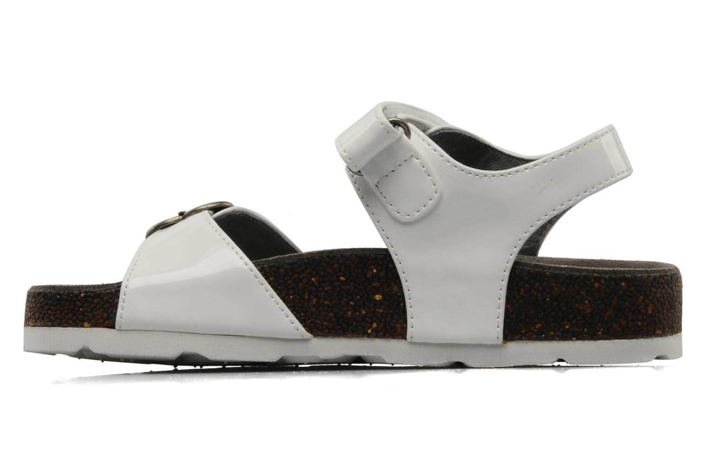 Sandales et nu-pieds Kickers MAZARINE Blanc vue face