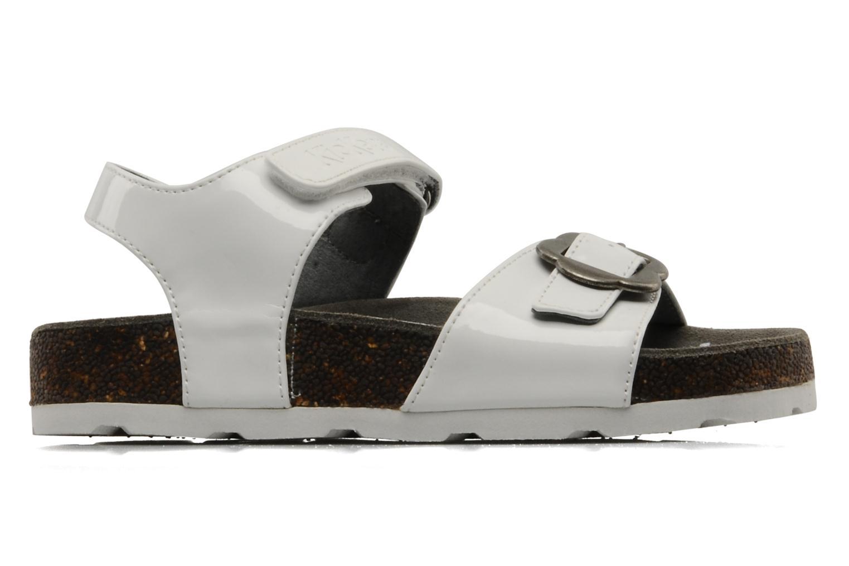 Sandales et nu-pieds Kickers MAZARINE Blanc vue derrière
