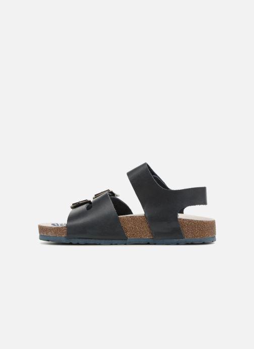 Sandales et nu-pieds Kickers MAGINATION Bleu vue face
