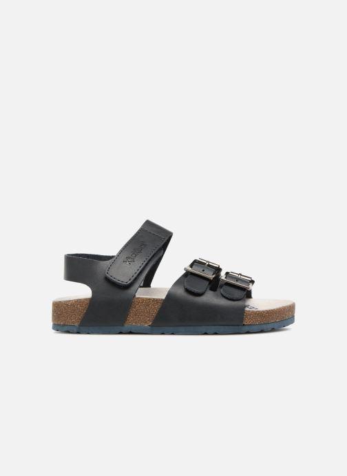 Sandales et nu-pieds Kickers MAGINATION Bleu vue derrière