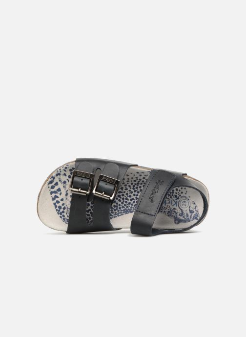 Sandales et nu-pieds Kickers MAGINATION Bleu vue gauche