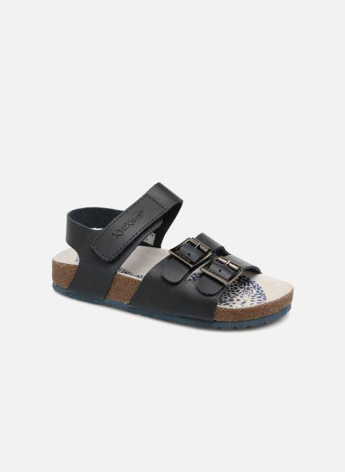 Sandales et nu-pieds Kickers MAGINATION Bleu vue détail/paire