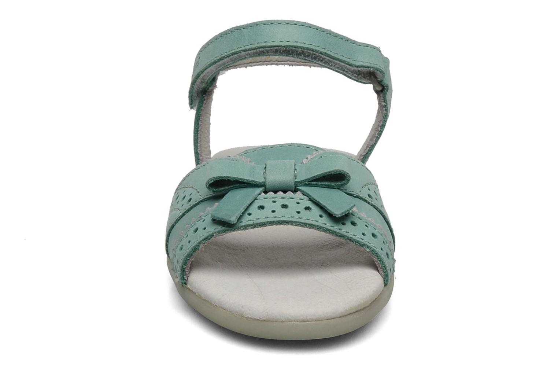Sandales et nu-pieds Kickers ANAMAY Bleu vue portées chaussures