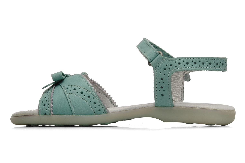 Sandales et nu-pieds Kickers ANAMAY Bleu vue face