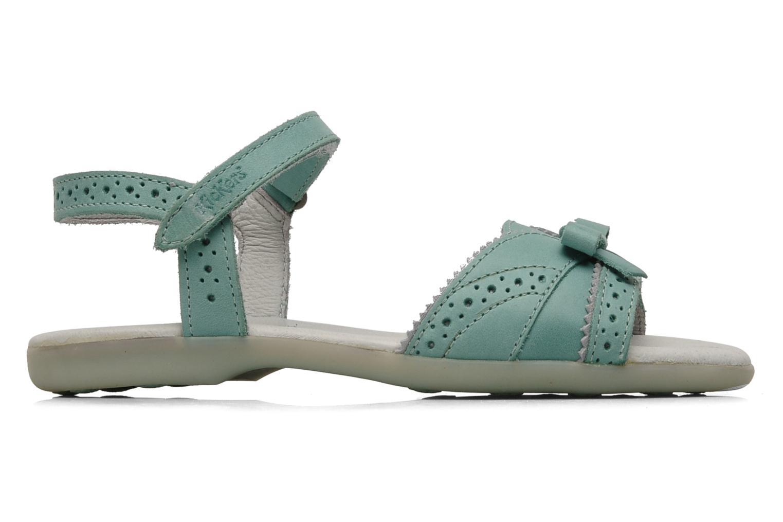 Sandales et nu-pieds Kickers ANAMAY Bleu vue derrière
