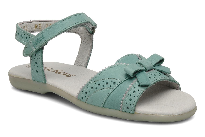 Sandales et nu-pieds Kickers ANAMAY Bleu vue détail/paire