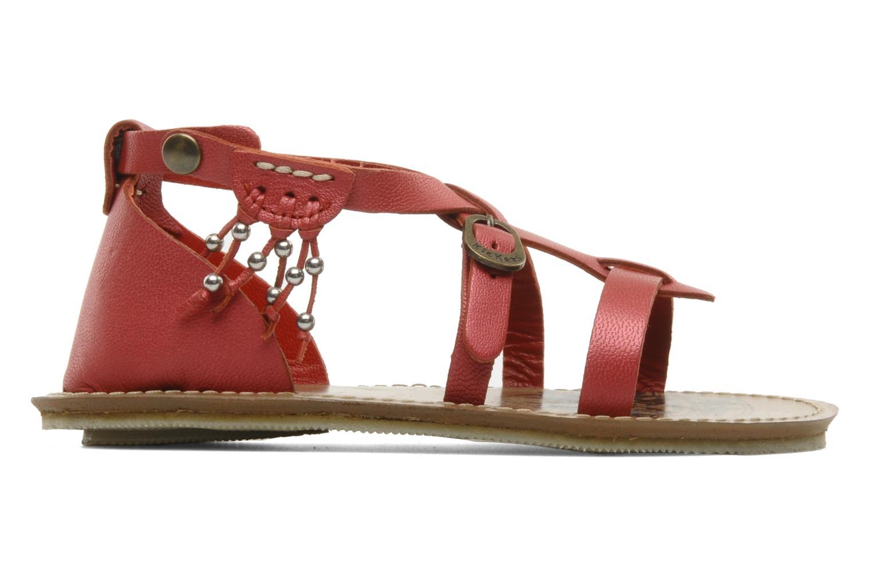 Sandales et nu-pieds Kickers LIOUKA Rouge vue derrière