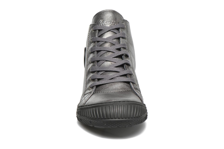 Baskets Pataugas Rocker/M W Gris vue portées chaussures