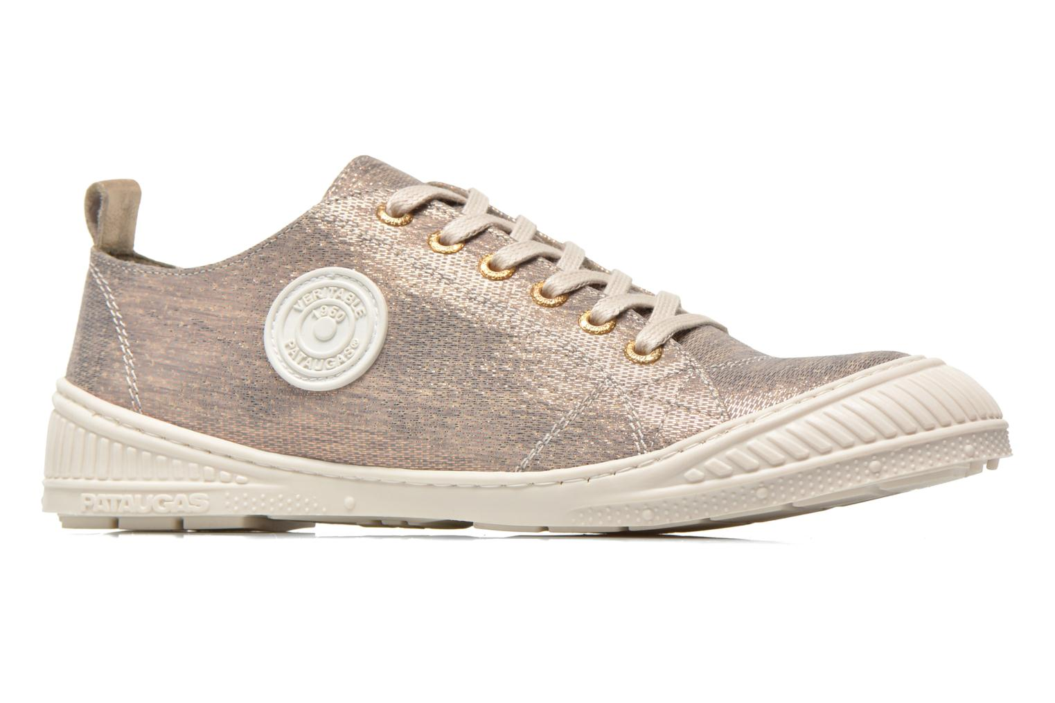 Trainers Pataugas Rock/M W Silver back view