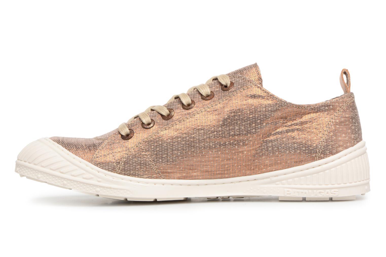 Sneakers Pataugas Rock/M W Goud en brons voorkant