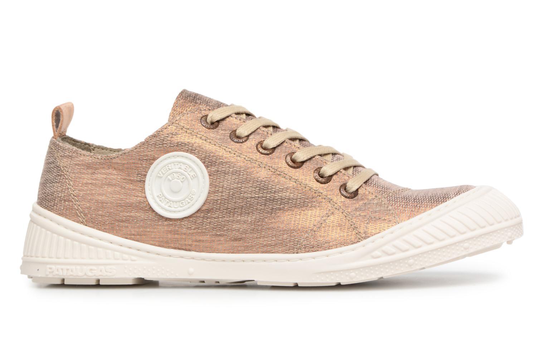 Sneakers Pataugas Rock/M W Goud en brons achterkant