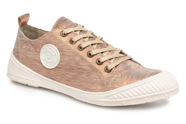 Sneakers Pataugas Rock/M W Goud en brons detail