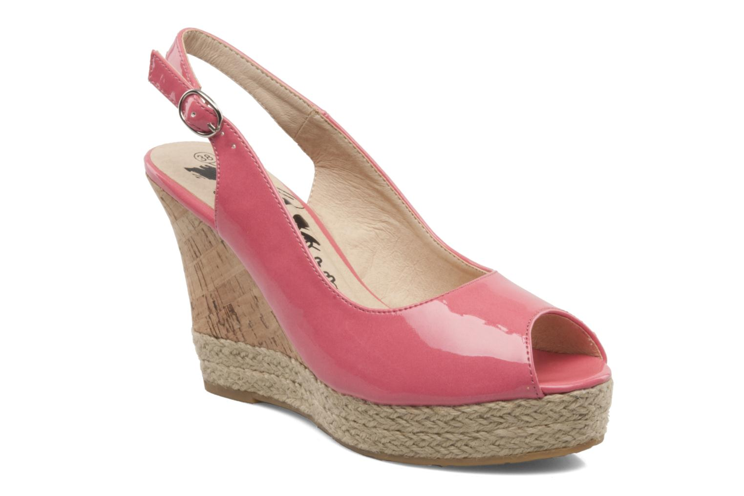 Sandals Xti Mulaba Pink detailed view/ Pair view