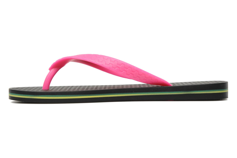 Slippers Ipanema Classica Brasil II f Zwart voorkant