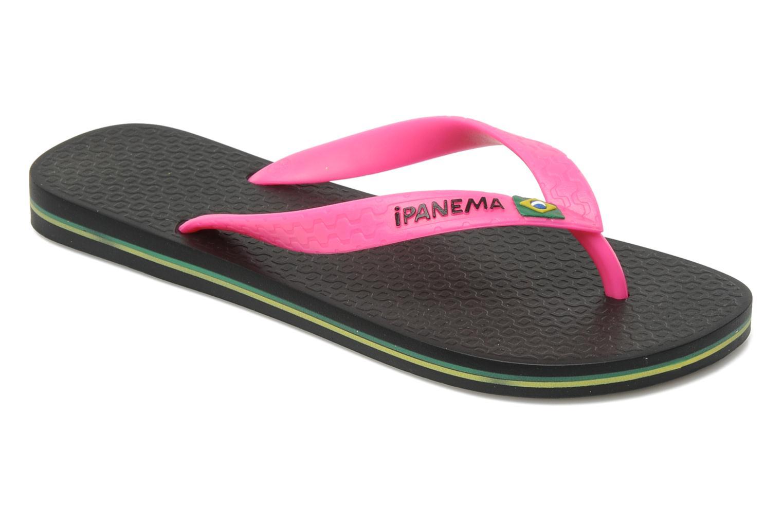 Slippers Ipanema Classica Brasil II f Zwart detail