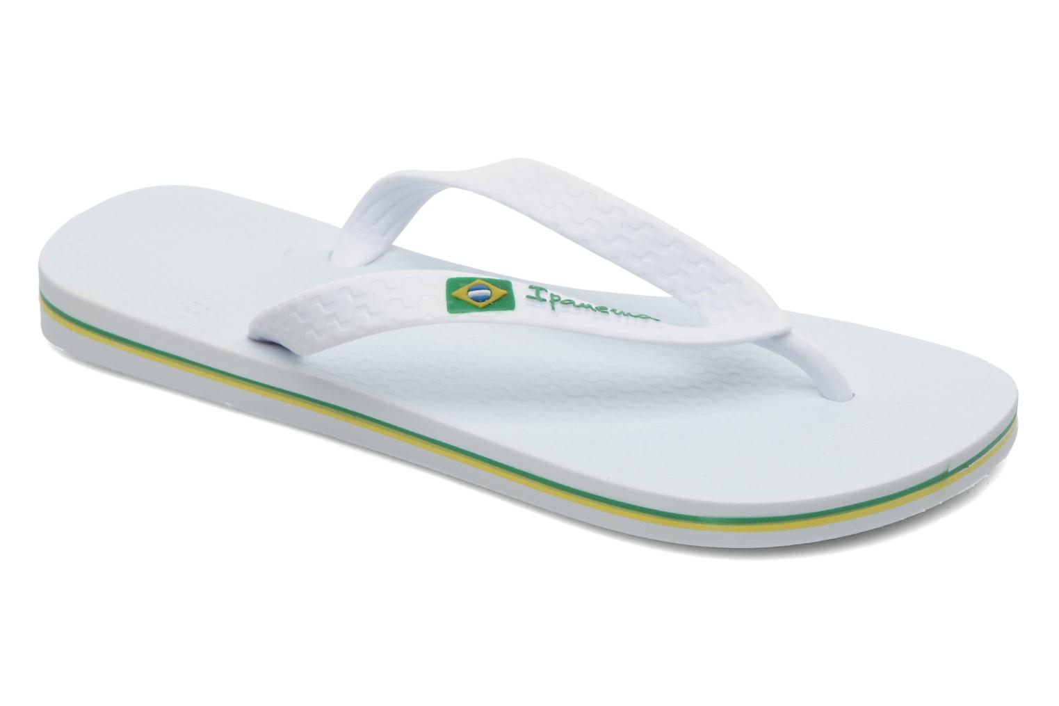 Flip flops Ipanema Classica Brasil II f White detailed view/ Pair view