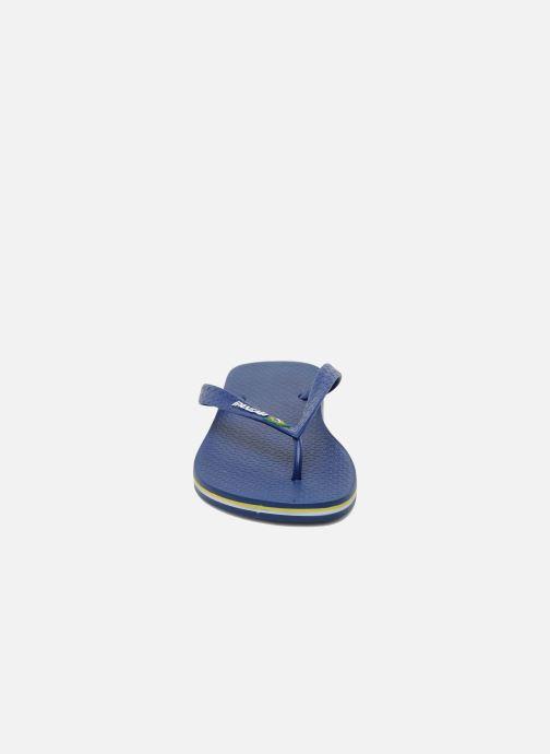 Chanclas Ipanema Classic Brasil II M Azul vista del modelo