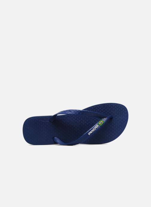 Slippers Ipanema Classic Brasil II M Blauw links