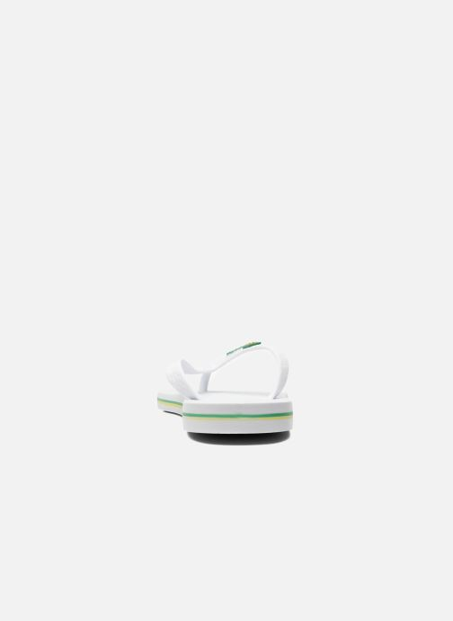 Flip flops Ipanema Classic Brasil II M White view from the right