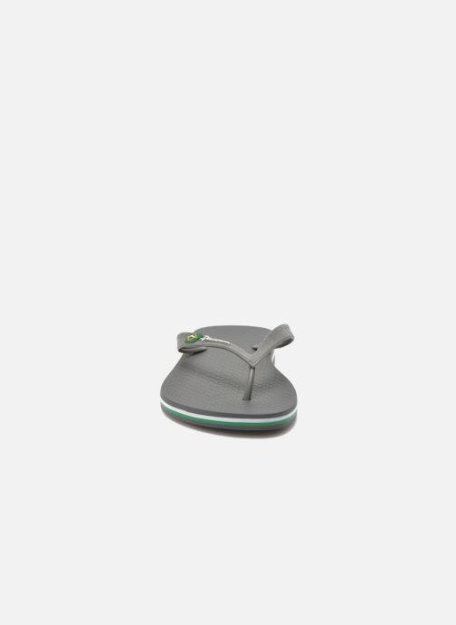 Zehensandalen Ipanema Classic Brasil II M grau schuhe getragen