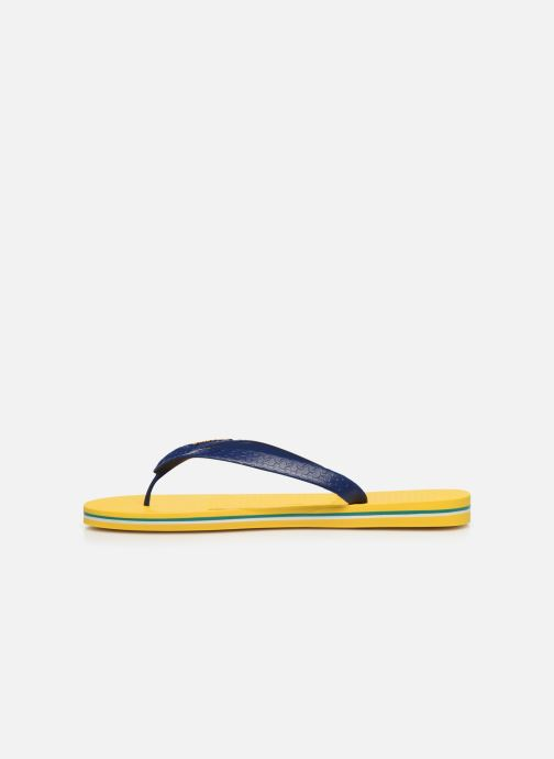Zehensandalen Ipanema Classic Brasil II M gelb ansicht von vorne