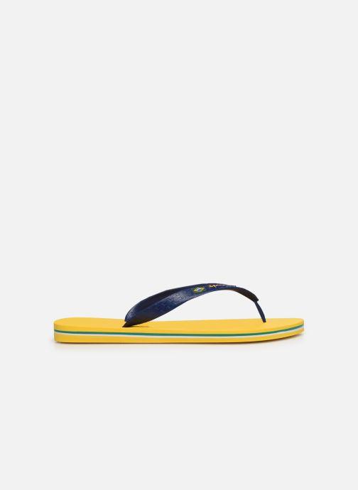 Zehensandalen Ipanema Classic Brasil II M gelb ansicht von hinten