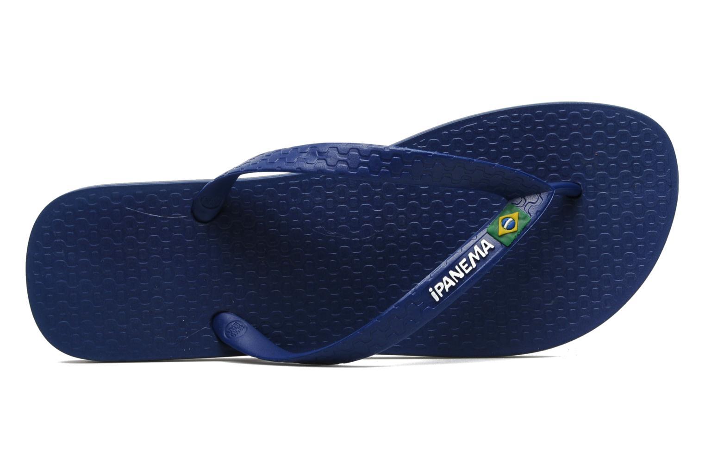 Slippers Ipanema Classic Brasil II M Blauw links