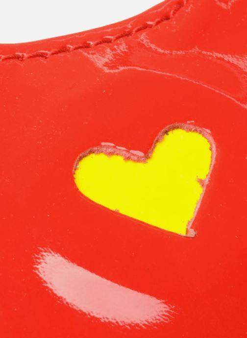 Marroquinería pequeña Mellow Yellow LISTELOR Rojo vista lateral izquierda