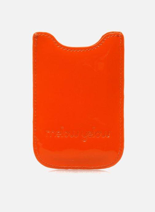 Marroquinería pequeña Mellow Yellow LISTELOR Naranja vista de detalle / par
