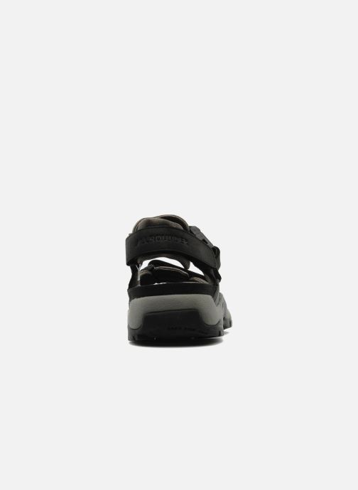 Chaussures de sport ALLROUNDER Alligator Noir vue droite
