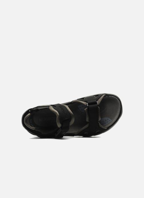 Chaussures de sport ALLROUNDER Alligator Noir vue gauche