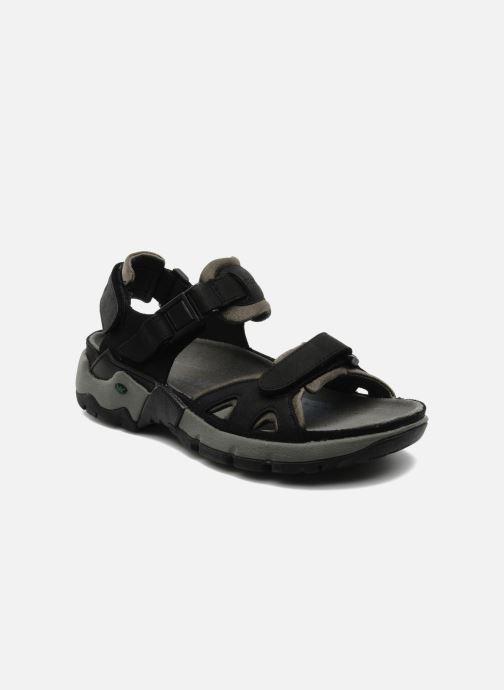 Chaussures de sport ALLROUNDER Alligator Noir vue détail/paire