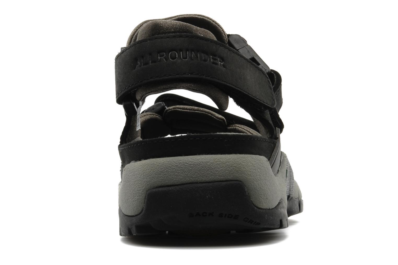 Sportschoenen Allrounder by Mephisto Alligator Zwart rechts