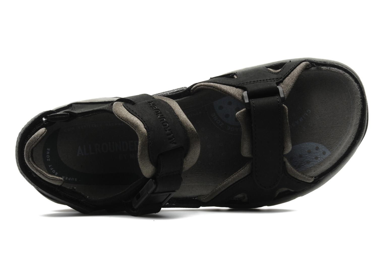 Sportschoenen Allrounder by Mephisto Alligator Zwart links