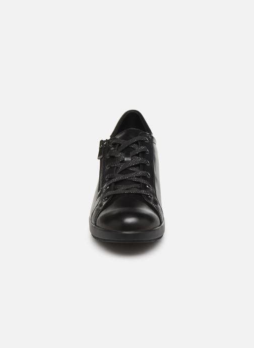 Baskets Mephisto Prima Noir vue portées chaussures