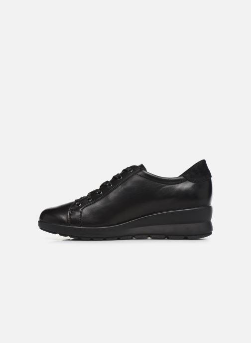Sneakers Mephisto Prima Nero immagine frontale