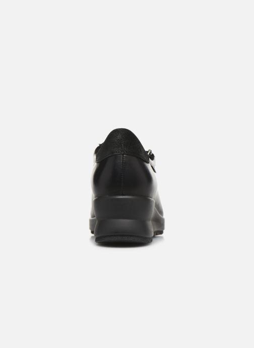 Sneakers Mephisto Prima Nero immagine destra